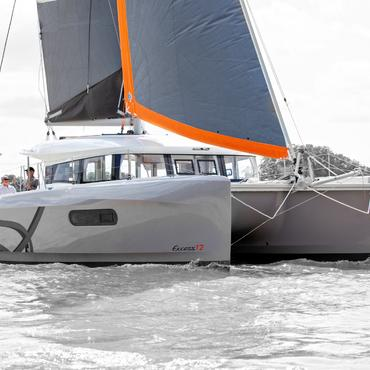 EXCESS 12 Catamaran UK Debut at Southampton