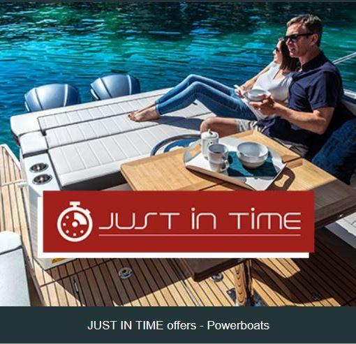 JUST IN TIME OFFERS - JEANNEAU POWERBOATS