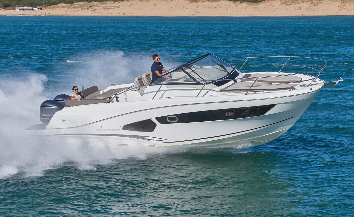 Jeanneau Cap Camarat 10.5 WA Motor Boats New 2016 - Sea Ventures