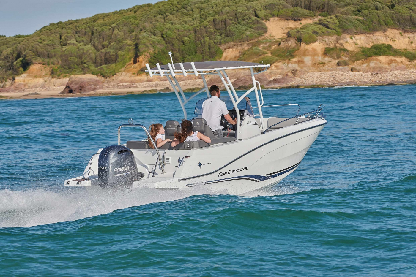 Jeanneau Cap Camarat 6.5 CC Series 3 Motorboats - Sea Ventures