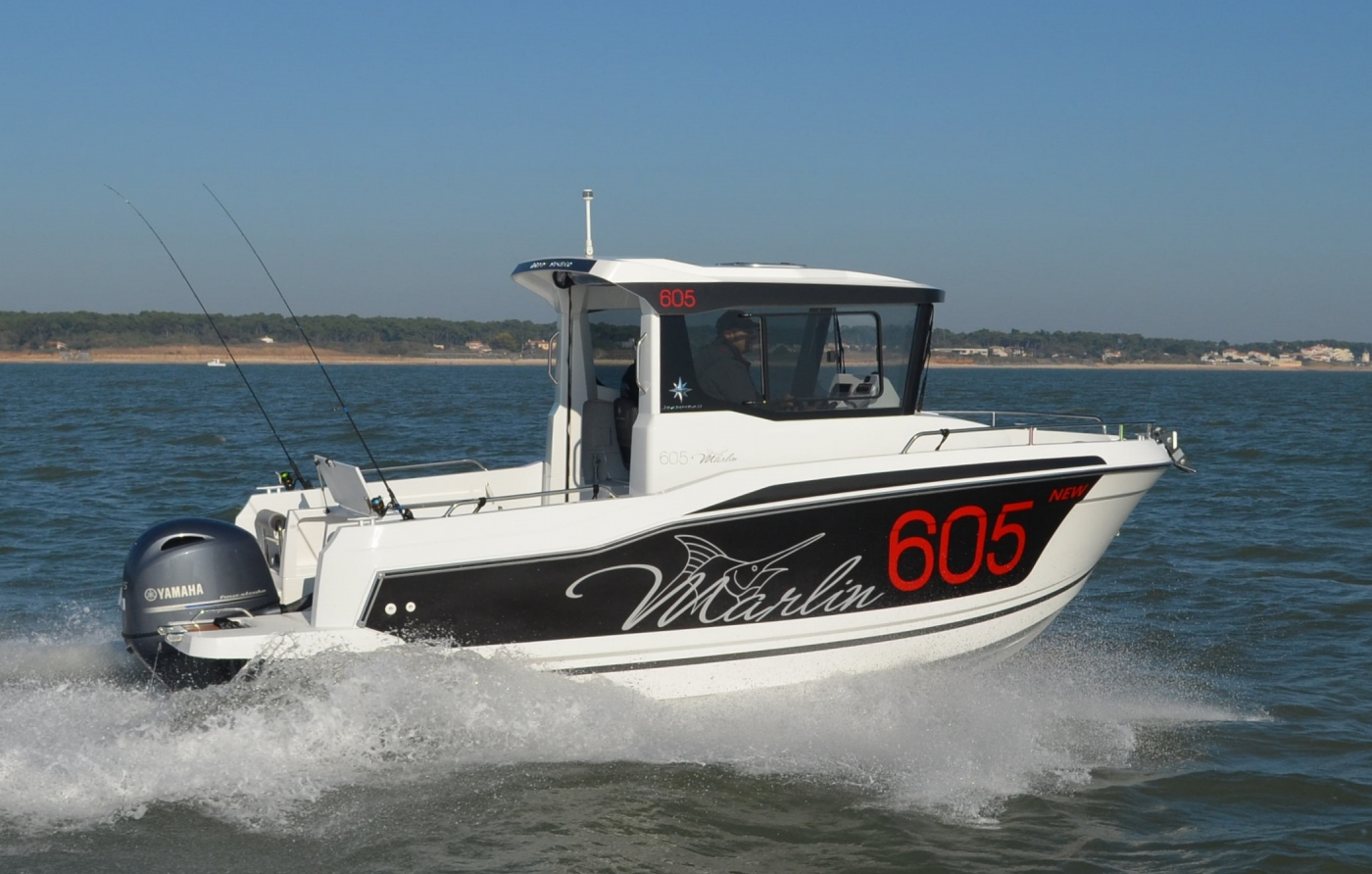 Jeanneau Merry Fisher 605 Marlin Motor Boat - Sea Ventures