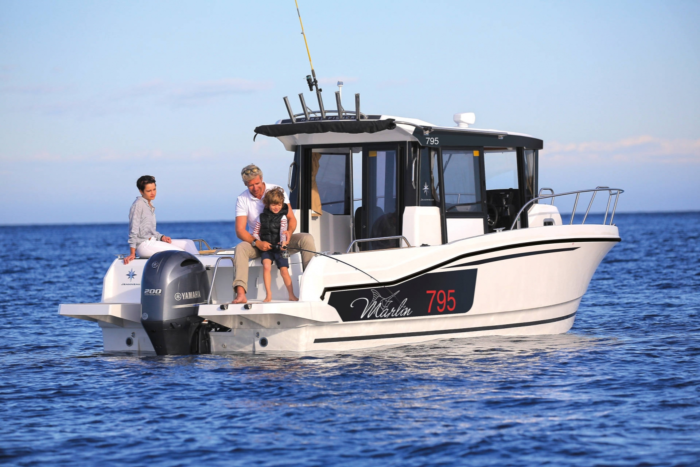 Jeanneau Merry Fisher 795 Marlin Motor Boat - Sea Ventures