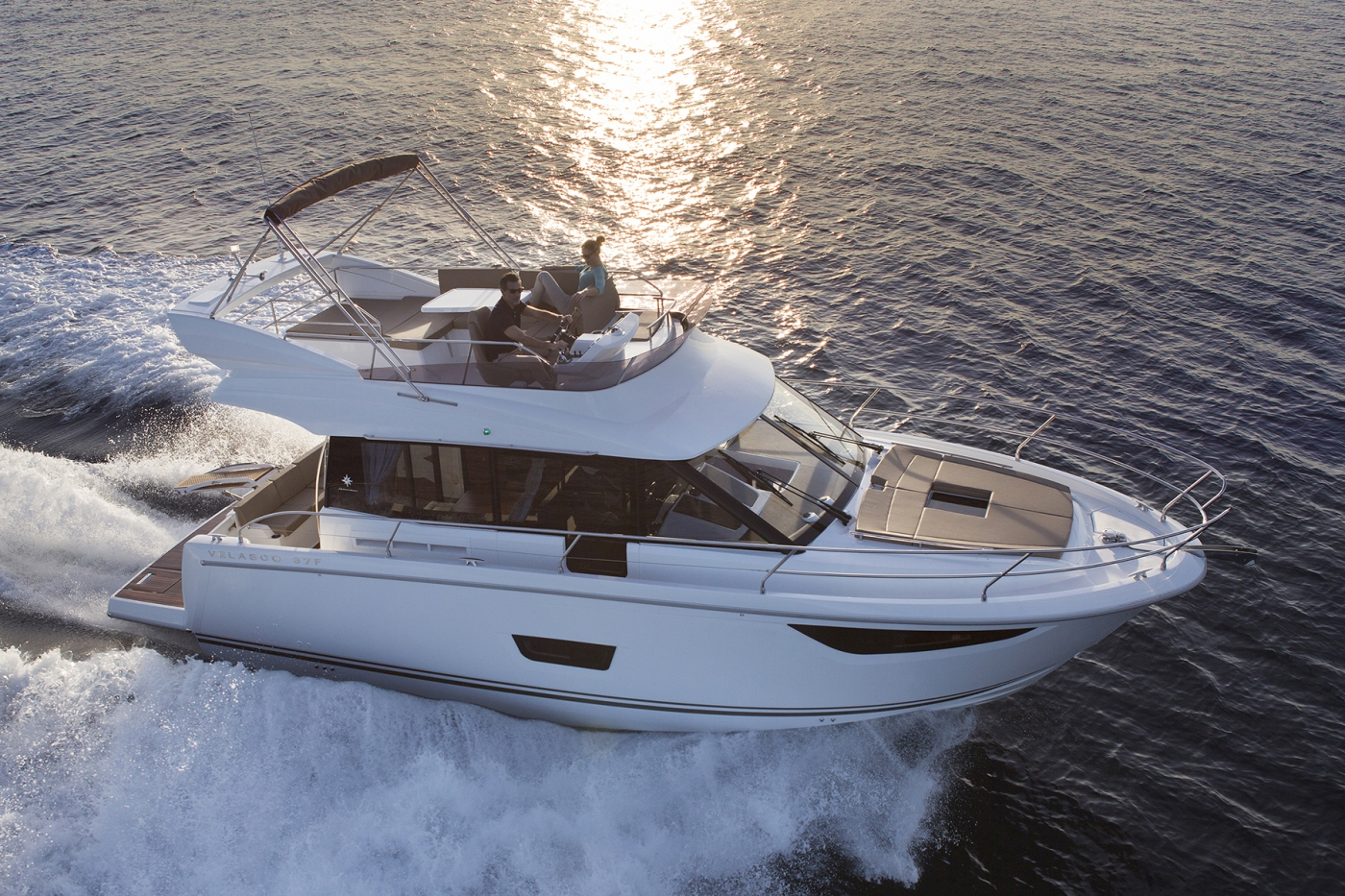 Jeanneau Velasco 37F Motor Boats - Sea Ventures